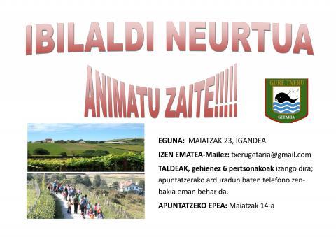 IBILALDI NEURTUA