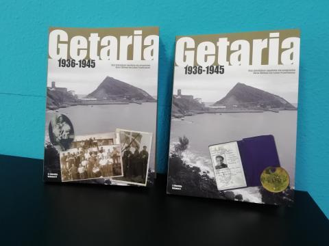 'GETARIA 1936-1945' LIBURUAREN 200 ALE BERRI ESKURAGARRI TURISMO BULEGOAN