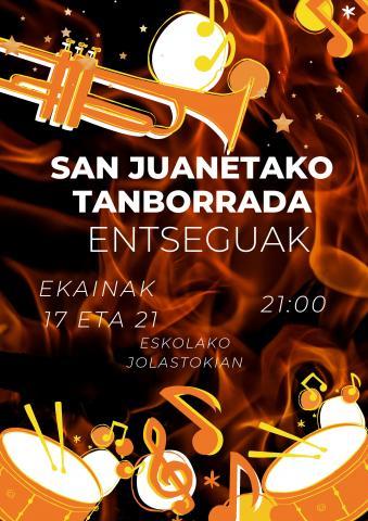 , Ensayos de la tamborrada de San Juan, Getariako Udala