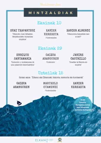 El nuevo ciclo de conferencias 'Mundubiraren ubera' analizará la construcción del relato histórico