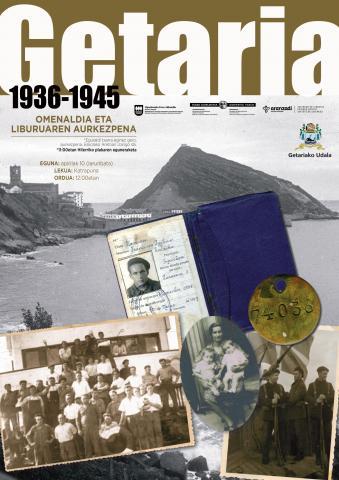 , 'GETARIA 1936-1945′. OMENALDIA ETA LIBURUAREN AURKEZPENA, Getariako Udala
